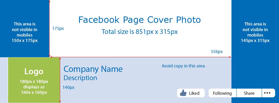 Facebook Desktop View Dimension