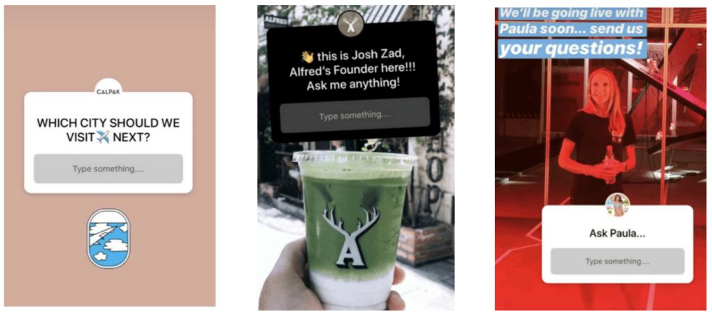 instagram sticker examples